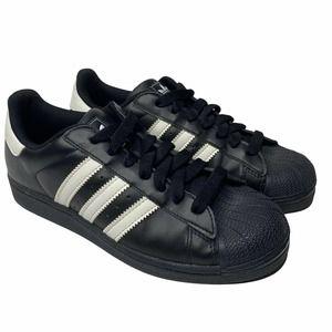 Adidas Men's Size 7 Superstar Sneakers Black